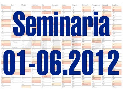 Seminaria Instytutu Łączności w I półroczu roku 2012
