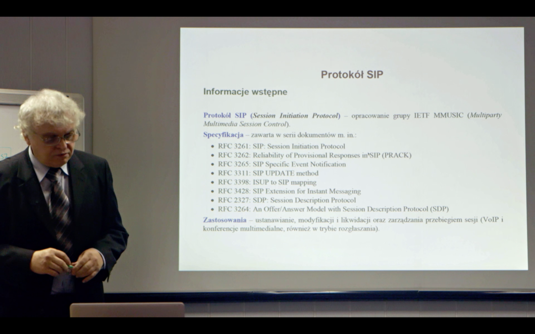 """""""Wprowadzenie do protokołu SIP"""" (nagranie)"""