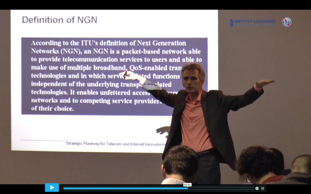 """Convergence in Telecommunications toward Internet"" (nagranie)"