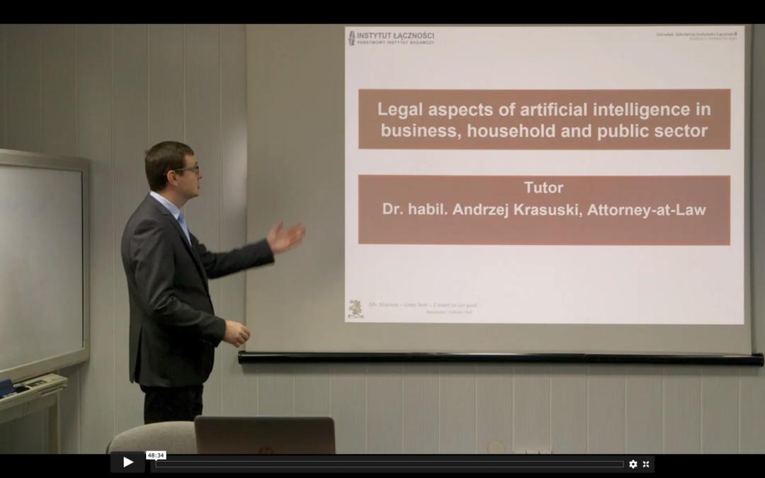Mankind towards artificial intelligence (nagranie)