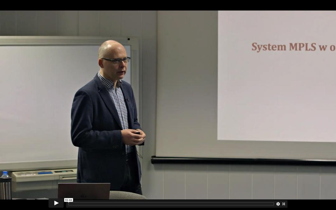 Cele, powody i korzyści wprowadzenia MPLS (nagranie)