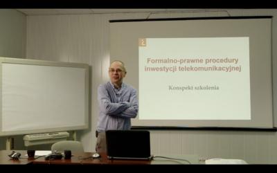 Formalno-prawne procedury inwestycji telekomunikacyjnej – case study (nagranie)